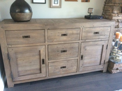 Coventry Large Sideboard in Salvage Grey