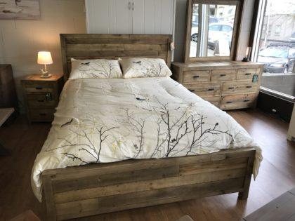 Beachwood Queen Bed Frame in Natural Rustic