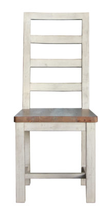 SALE Bavaria Ladderback Dining Chair in Two Tone