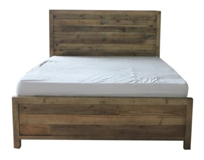 Beachwood King Bed Frame in Natural Rustic