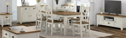FREE Galway 220cm Dining Table with purchase of 8 Chairs