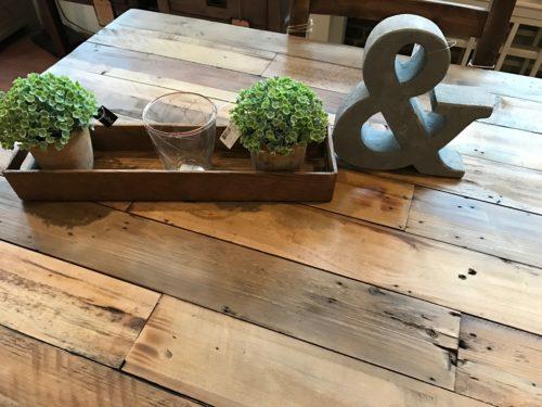 PRE ORDER Flea Market Dining Table in Coffee bean
