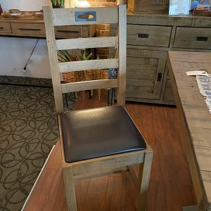 Flea DISCONTINUED Market Dining Chair in Salvage Grey