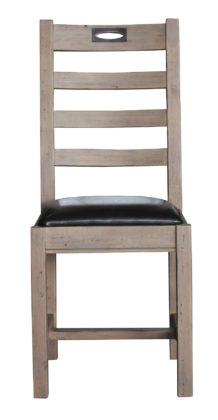 Flea Market Dining Chair in Salvage Grey