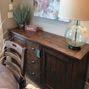 New England FSC Large Sideboard in Coffee Bean