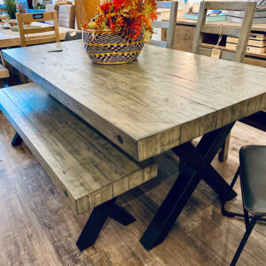 PROMO SALE Toronto 200cm X Frame Table in Light Amazon
