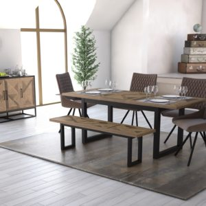 Metro Large Extending Dining Table
