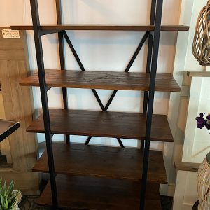 NEARLY SOLD OUT Barclay Bookcase in Coffee Bean