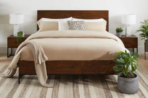 PRE ORDER Chicago Queen Bedroom Set in Coffee Bean